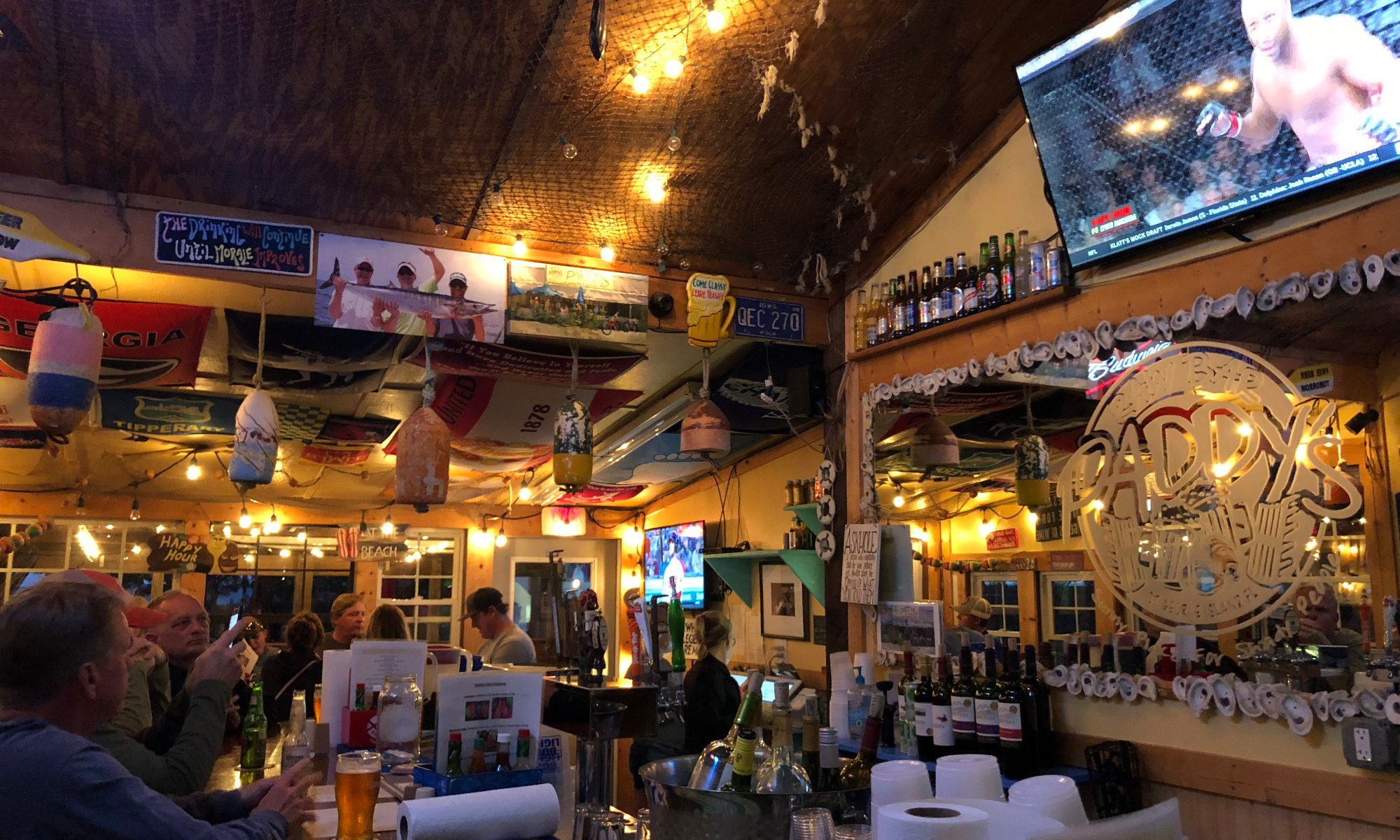 Here Are the Best Reason to Visit Paddy's Raw Bar on St. George Island FL